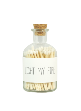 My Flame lucifers Light my fire
