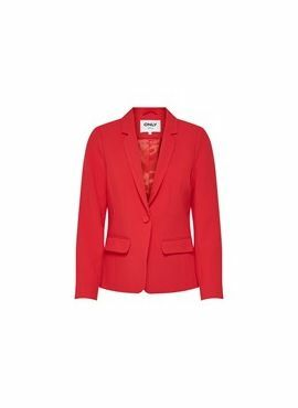 Only Fitted Blazer Nico red