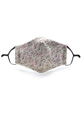 Fashion Mask Pink Flower