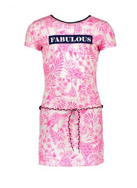 B.Nosy Dress delfts pink