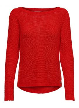 Only Pullover Geena high risk red