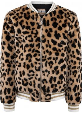 Blu Effect Jacket Leopard