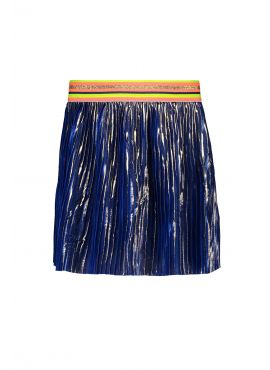 Kidz Art Plissé Skirt mid blue