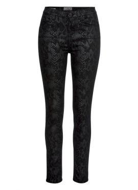 LTB Jeans Amy black python wash