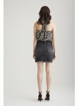 COJ Denim Skirt Amber