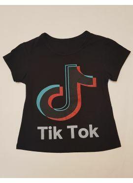 Tik Tok T-Shirt zwart