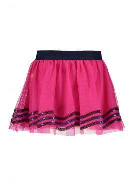 B.Nosy Netting Skirt pink glo