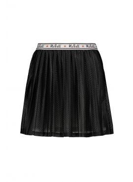NoBell Skirt pleated jet black