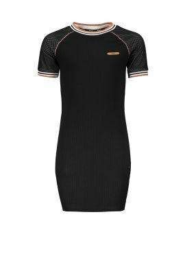 NoBell Dress raglan jet black