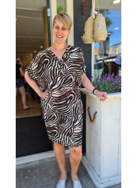 Tuniek Zebra bruin
