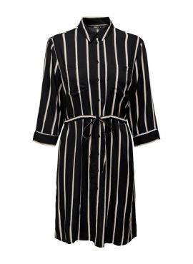 Only Shirt Dress Tamari black stripes