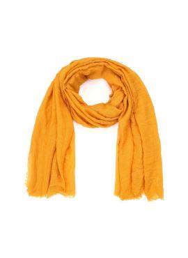 Sjaal sunset Oker yellow