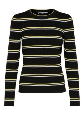 Only Pullover Mumbai black stripes
