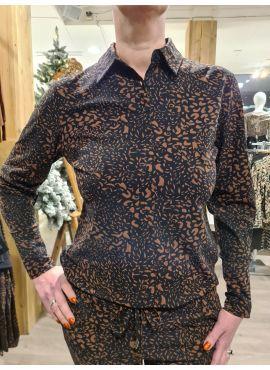 Daelin Blouse Leopard Britt