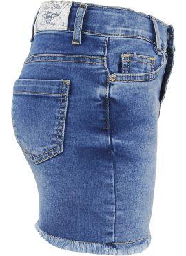 Blue effect skirt