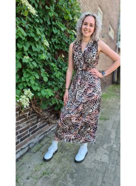 Long Dress multicolor Panter