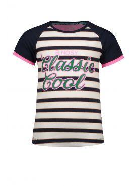 B.Nosy Raglan Shirt oxford stripe