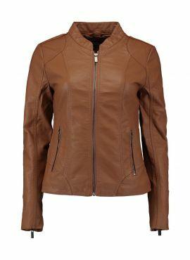Haily's PU Jacket Pina