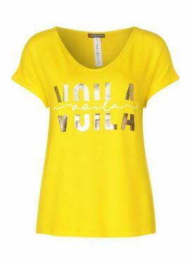 Street One Shirt Voila shiny yellow
