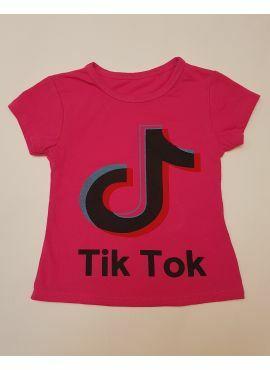 Tik Tok T-Shirt roze