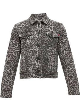 LTB Jacket Dean grey leopard wash