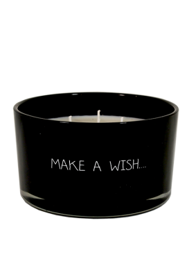 My Flame kaars in glas Make a wish