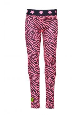 B. Nosy Legging pink zebra