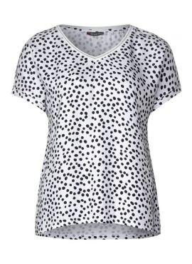 Street One T-Shirt Landa white