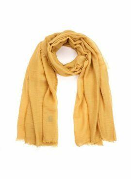 Sjaal sunset deep yellow