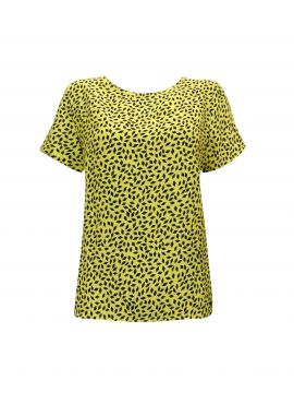Elvira Top Renee yellow