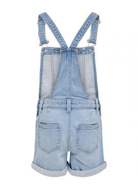 Only overall shorts Percy
