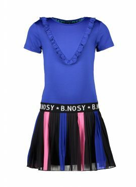 B.Nosy Dress + Plissé Skirt princess blue