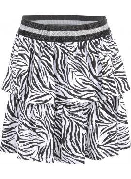 Blue Effect Skirt Zebra