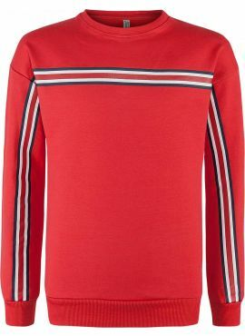 Blue Effect Sweater Stripes