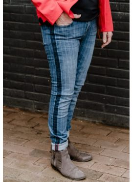 Sina Skinny blue stripe