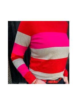 Street one Pullover striped u Boat