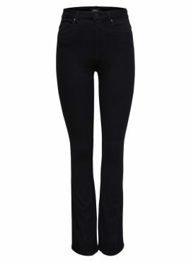 Only Royal High Flared Jeans black