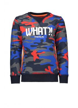 T&v sweater AOP CAMOUFLAGE WHAT?