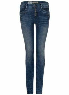 Street One Jeans York Slimfit HW dark blue