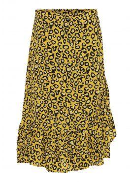 Soyaconcept Skirt Vela 3 yellow aop