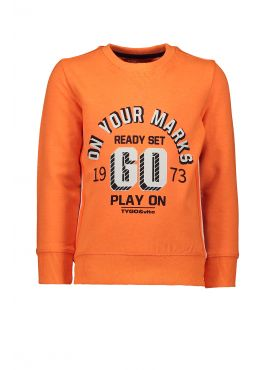 T&v sweater neon ON YOUR MARKS GO